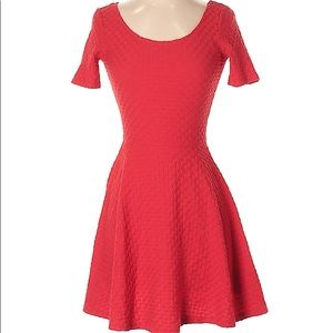 H&M Divided XS Red Dress